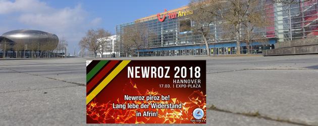 Newroz-Fest: Kurden feiern auf der Plaza