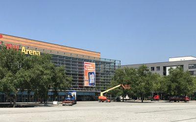 Plaza-Festival: Aufbau läuft an