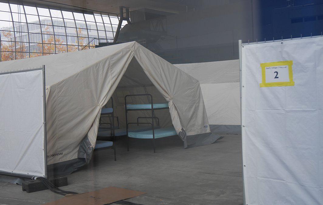 Deutscher Pavillon: Vorerst keine Flüchtlinge