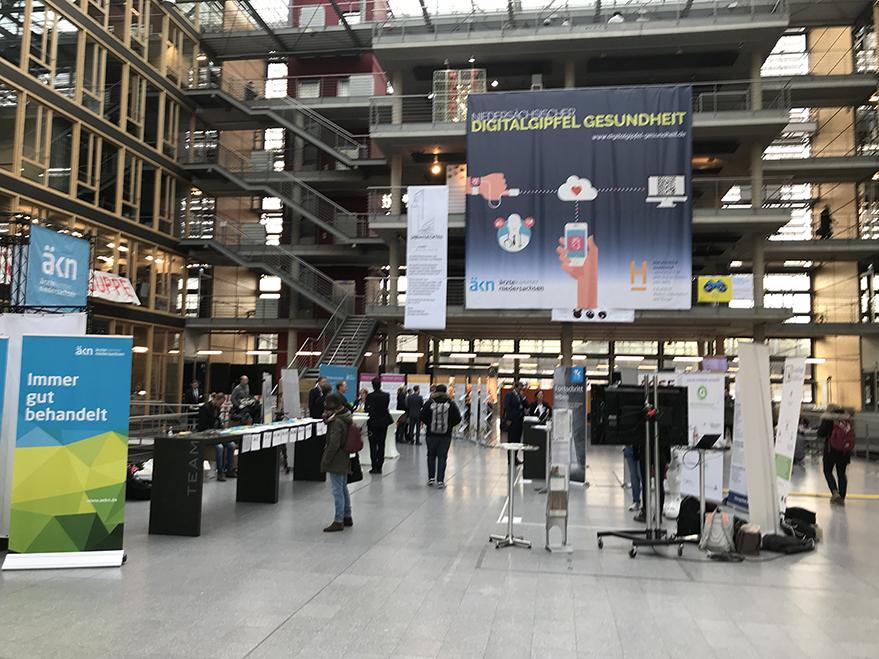 2. Niedersächsischer Digitalgipfel Gesundheit an der Plaza