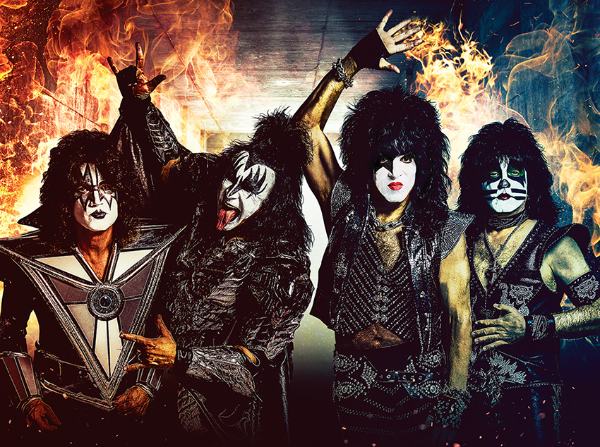 KISS rocken die Plaza