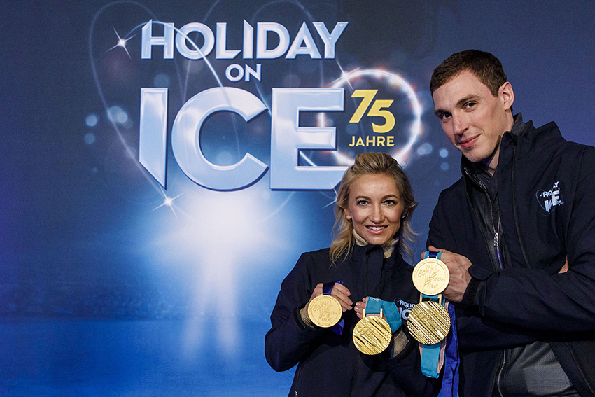 Sechsmal Showtime: Holiday on Ice