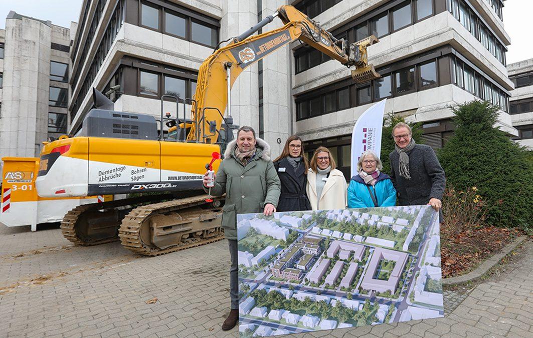 Wohnkompanie Nord feiert Baustellenparty