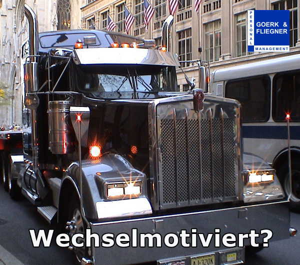 Goerk & Fliegner suchen Kraftfahrer