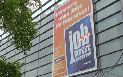 12. Job-Messe in der TUI-Arena