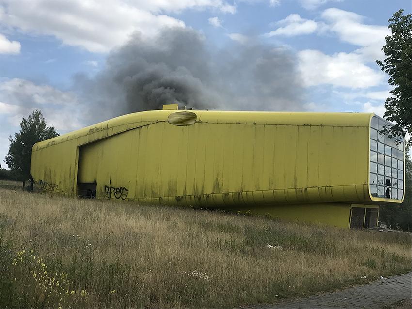 Litauer brennt