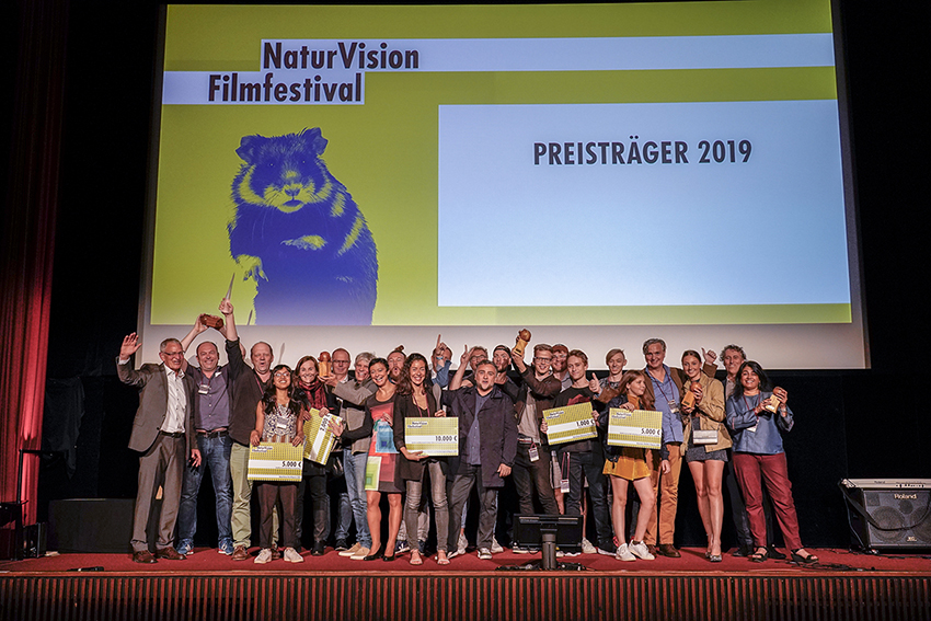 UmweltDruckerei fördert NaturVision Filmfestival