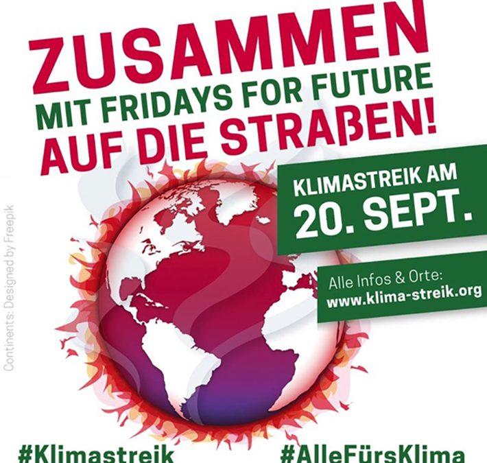 Streiken für den Klimaschutz