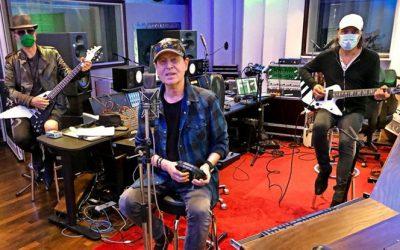 Scorpions rocken im Peppermint Park Studio