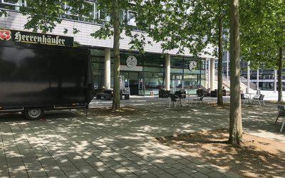 Plaza wird für vier Tage zur Bühne