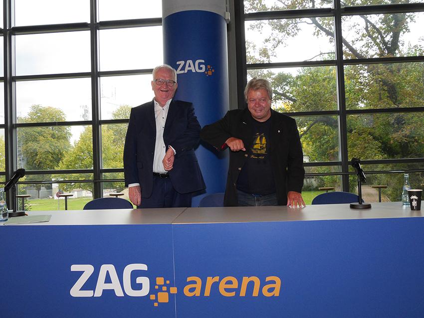ZAG-Arena ist eröffnet