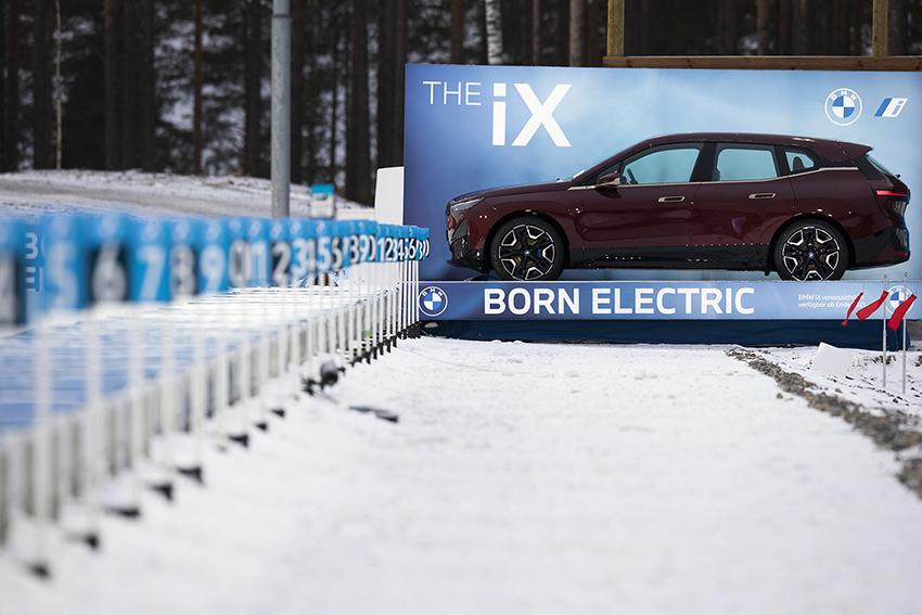 Voll elektrisch: Der BMW iX