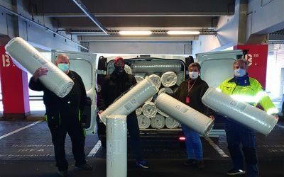 Ikea spendet für Obdachlosenhilfe