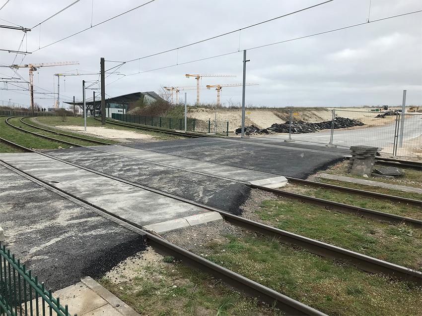 Bahnübergang fertig: Auf nach Kronsrode