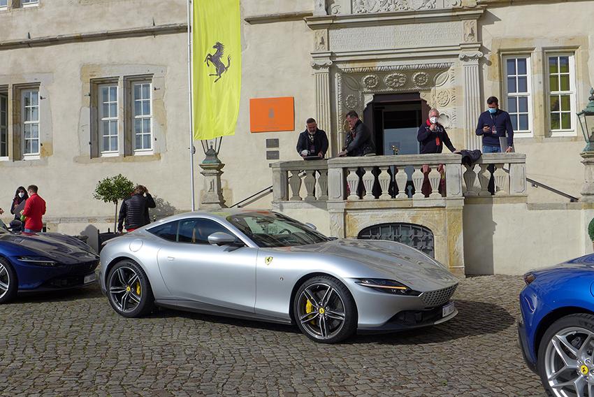 Universo Ferrari: Italien zu Gast bei Moll