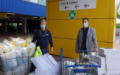 IKEA spendet für Housing-First-Projekt
