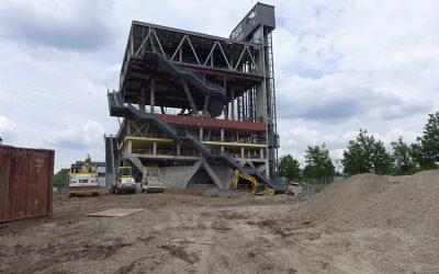 Holländischer Pavillon: Es geht los