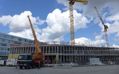 Torhaus: Bauarbeiten schreiten voran