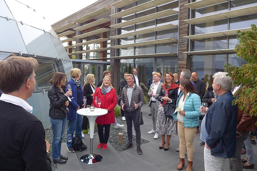 Expo Lounge im dänischen Pavillon