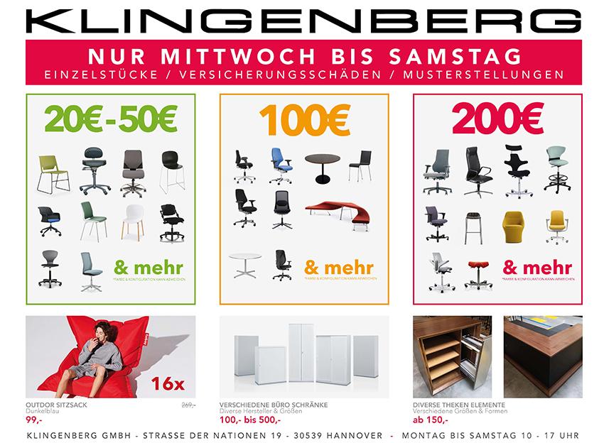 Großer Sonderverkauf bei Klingenberg